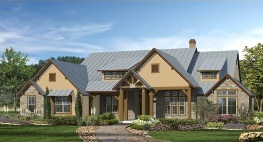 Image gallery hill country homes Country home builders in texas
