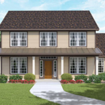 2000+ Sq Ft, 4 Bed, 2.5 Bath, 2 Story Floor Plan