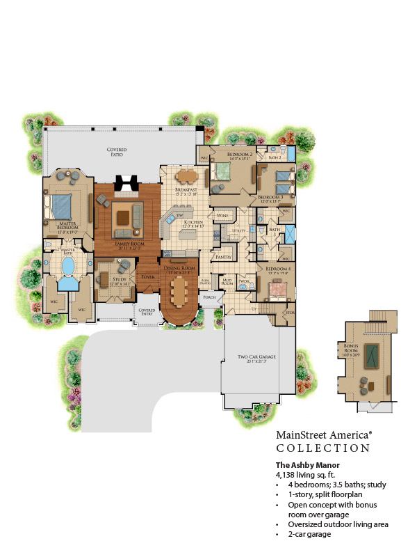 The ashby manor design tech homes for Ashby house plan