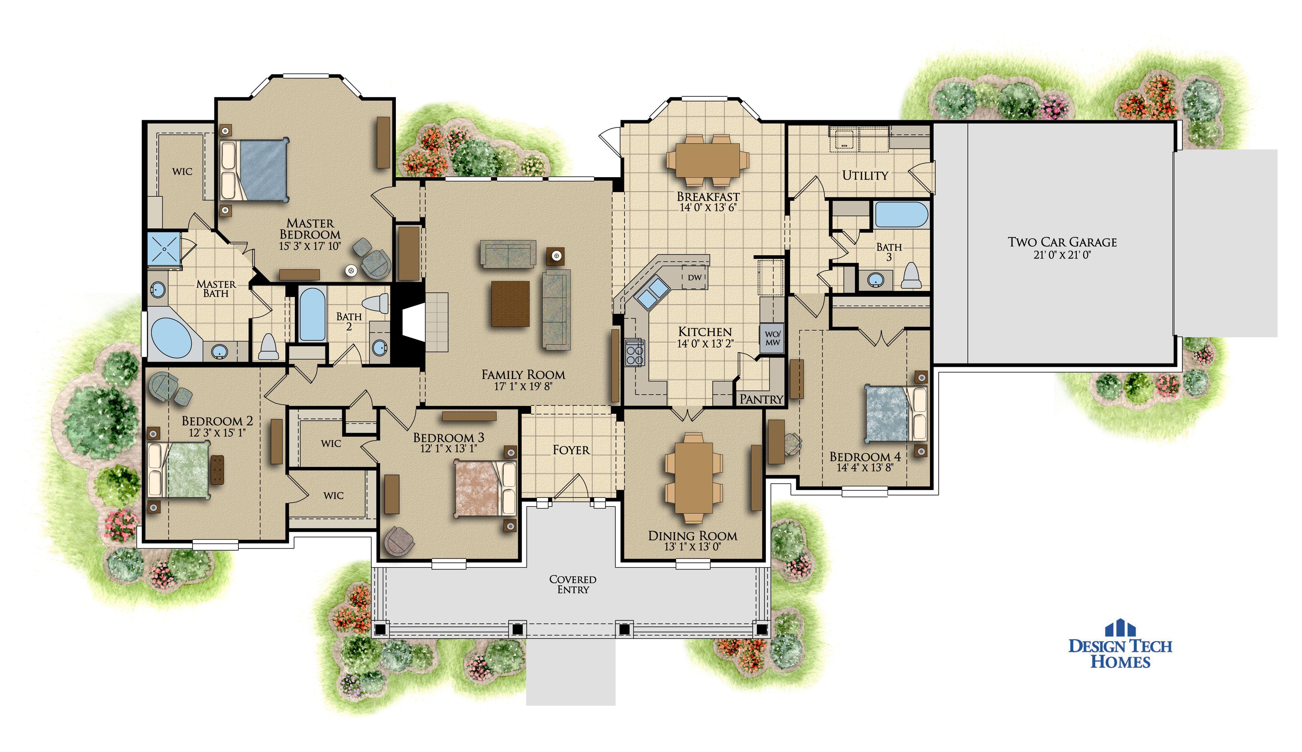 The Carrington   Plus Sq Ft House Plans Design Tech Homes - Design tech homes pricing