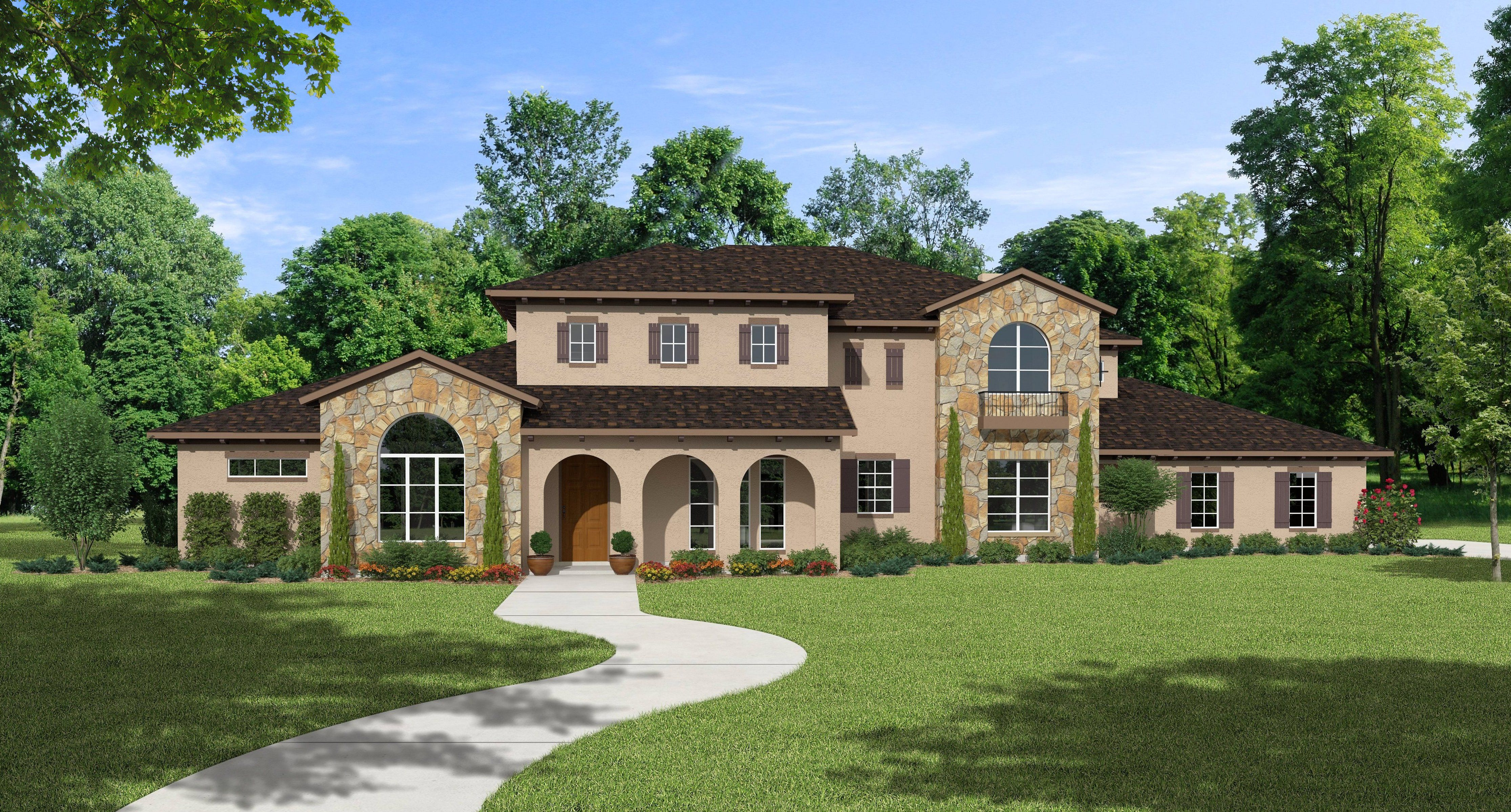 the heritage –4000+ sq ft luxury house floor plans | design tech homes