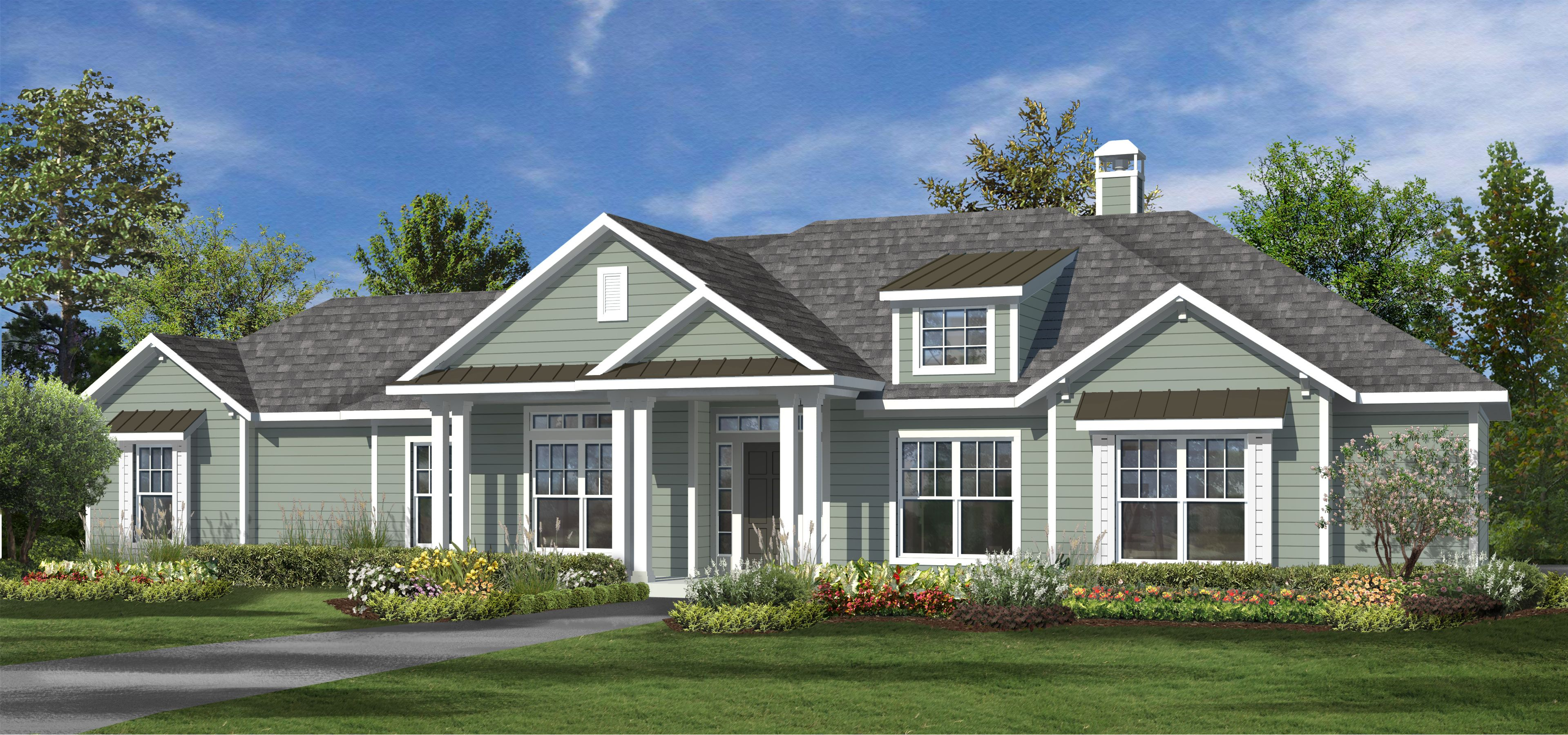 The oakmont 2000 plus sq ft custom home plans design Oakmont home builders