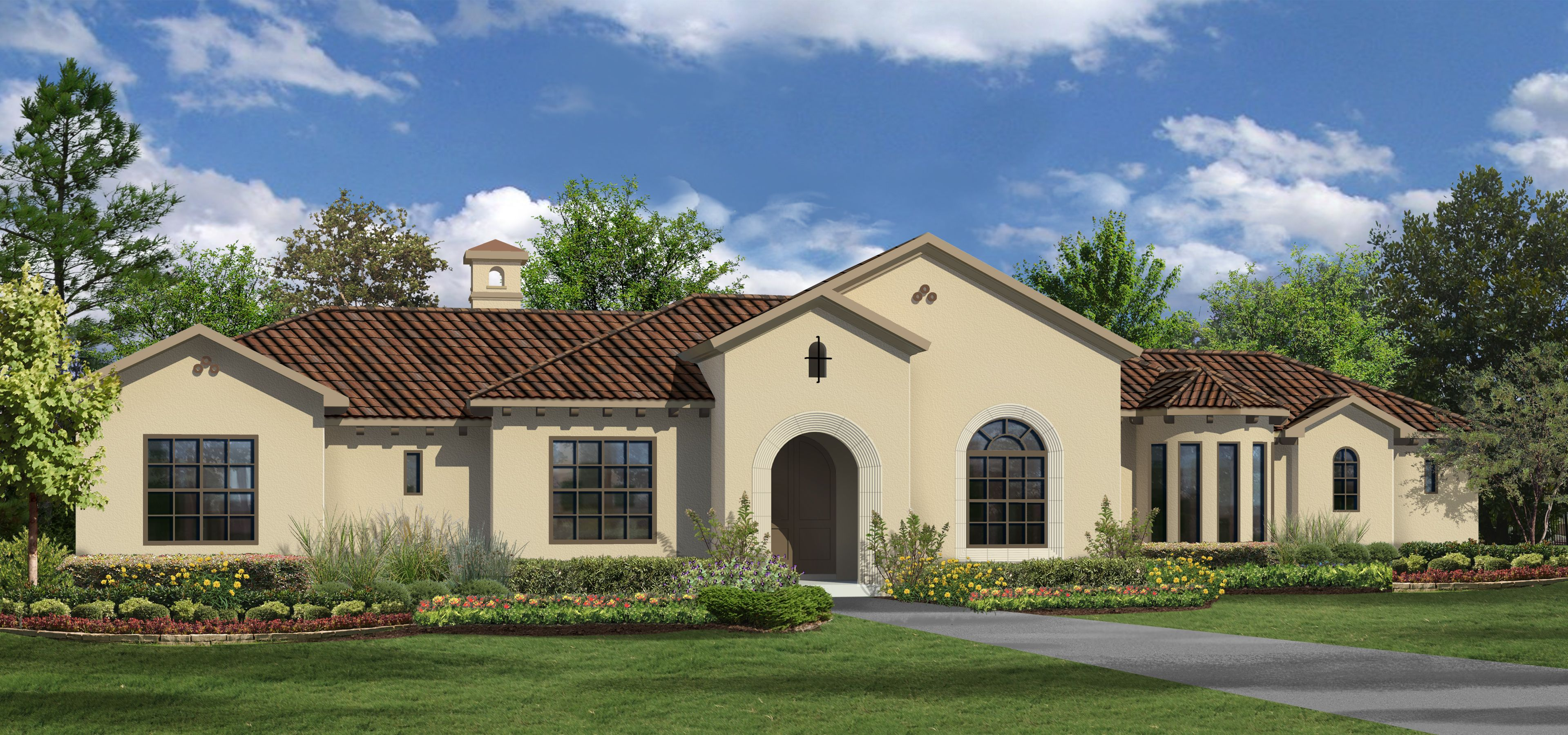 2 606 sq ft house plan 4 bed 3 bath 1 story the for Wakefield house