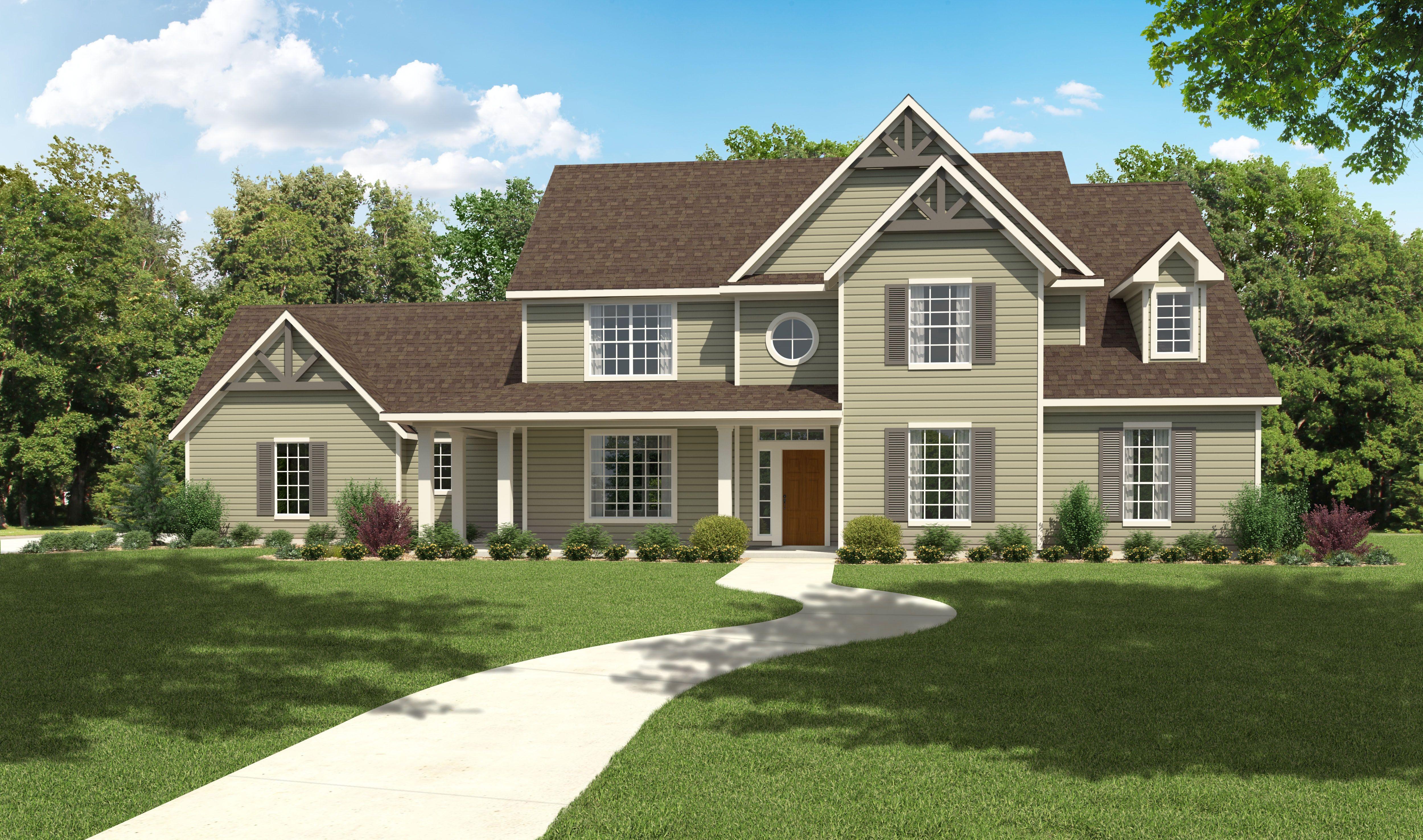 The Woodbridge – 3000+ Sq Ft House Plans  Design Tech Homes
