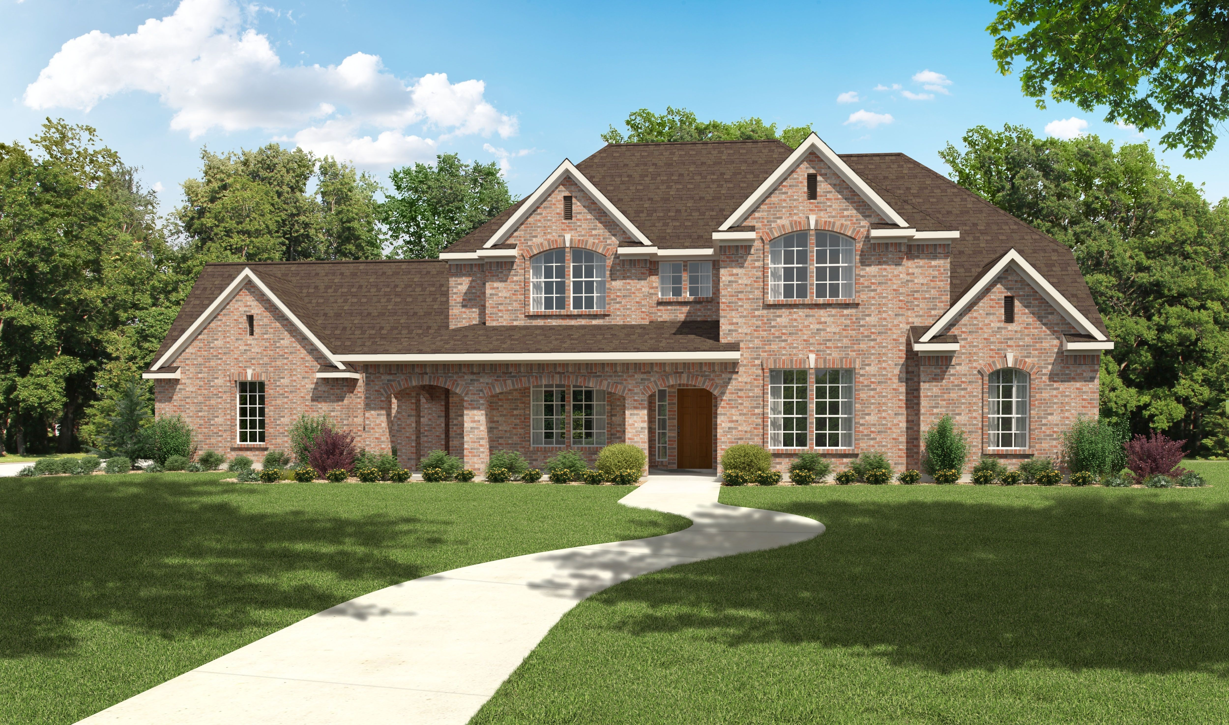 The woodbridge 3000 sq ft house plans design tech homes 3000 square foot homes