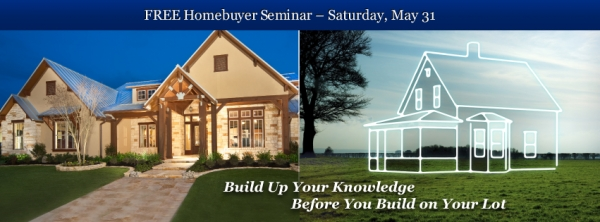 Homebuyer Seminar May 31st | FREE to the Public