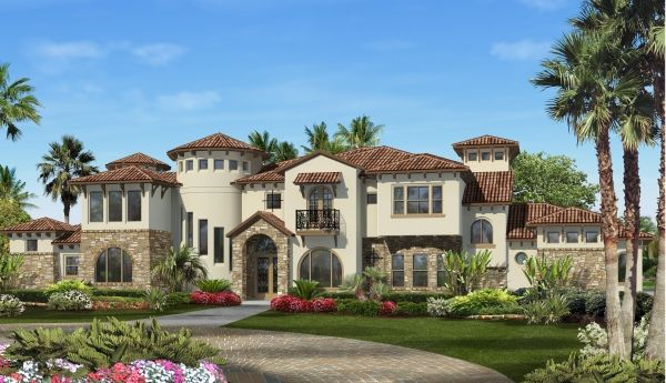 The villa lago luxury home floor plans design tech homes for 4000 sq ft modular homes