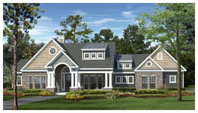 2 321 Sq Ft House Plan 3 Bed 2 5 Bath 1 Story The