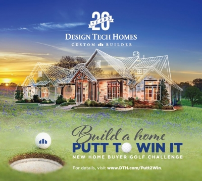 "Design Tech Homes Kicks Off ""Build a Home. Putt to Win It"" Promotion"