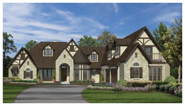 The ashby manor luxury house plans 4000 sq ft design for 4000 square feet