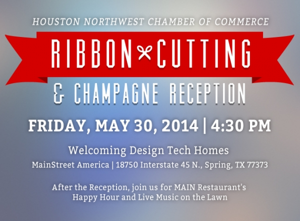 Join DTH for a Ribbon Cutting & Champagne Reception with Houston NW Chamber of Commerce