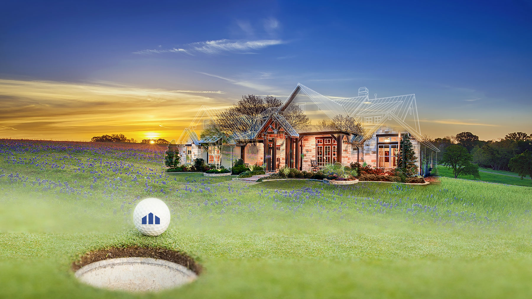 build a home, putt to win it | design tech homes promotion