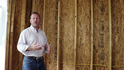 Energy Efficient Home Builder Uses Radiant Barrier