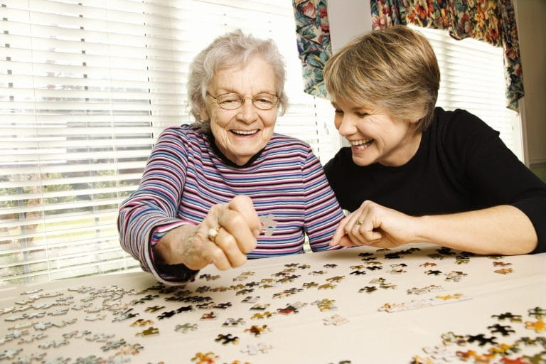 Aging in place allows seniors to enjoy their family and community