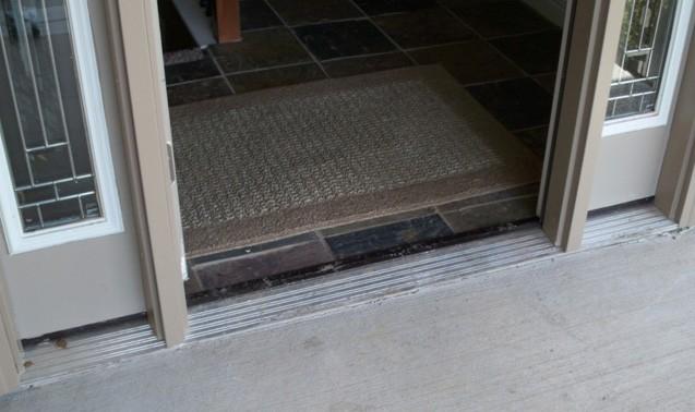 Universal design includes features like no step entrances