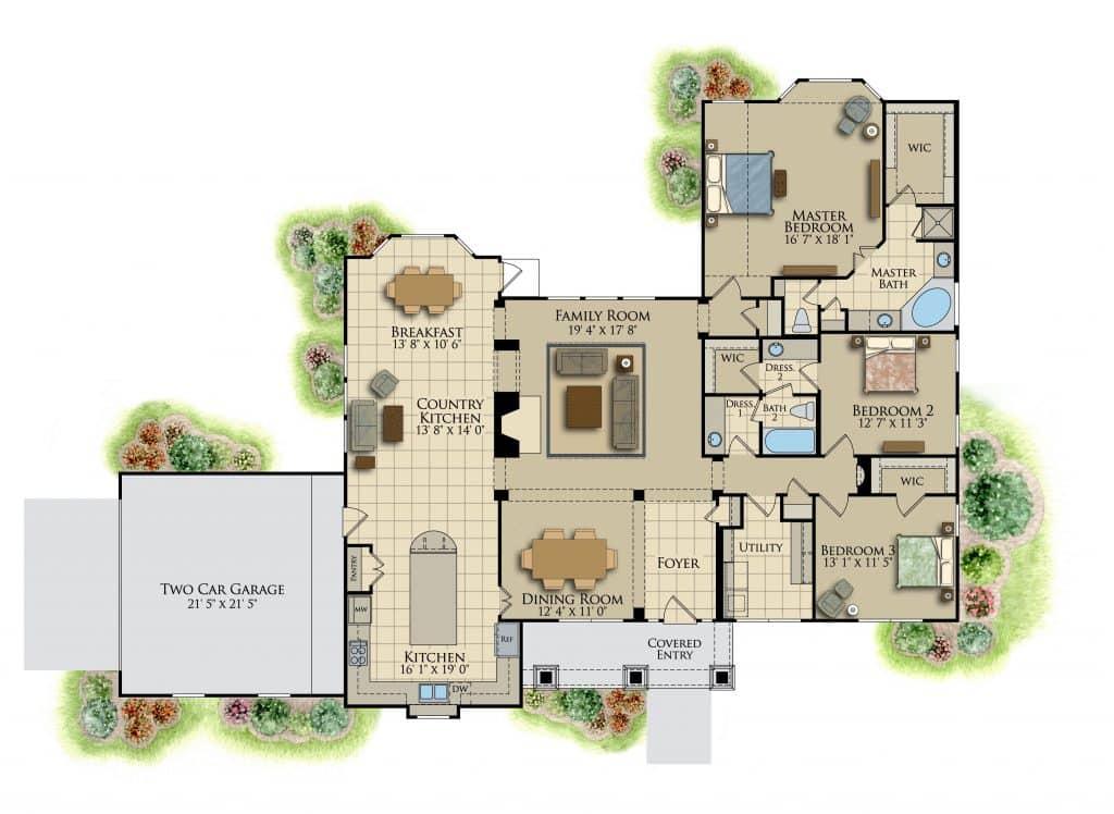 Brantley Floor Plan