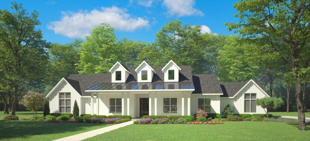 Elevation F Modern Farmhouse
