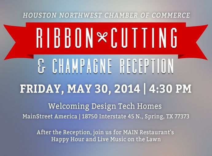 Join DTH for a Ribbon Cutting & Champagne Reception with Houston NW Chamber of Commerce 1