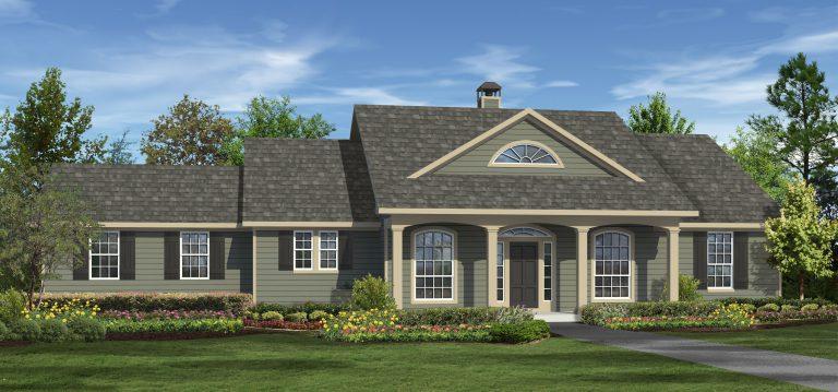 Elevation A - Farmhouse