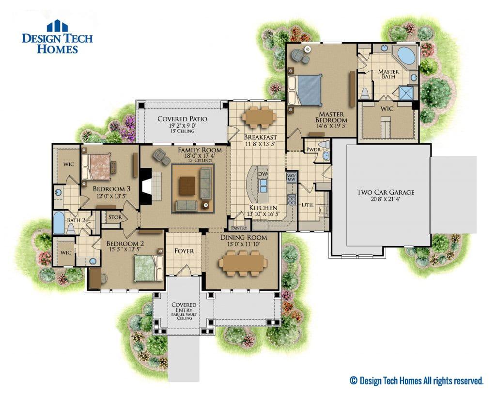 Timbergrove Floorplan