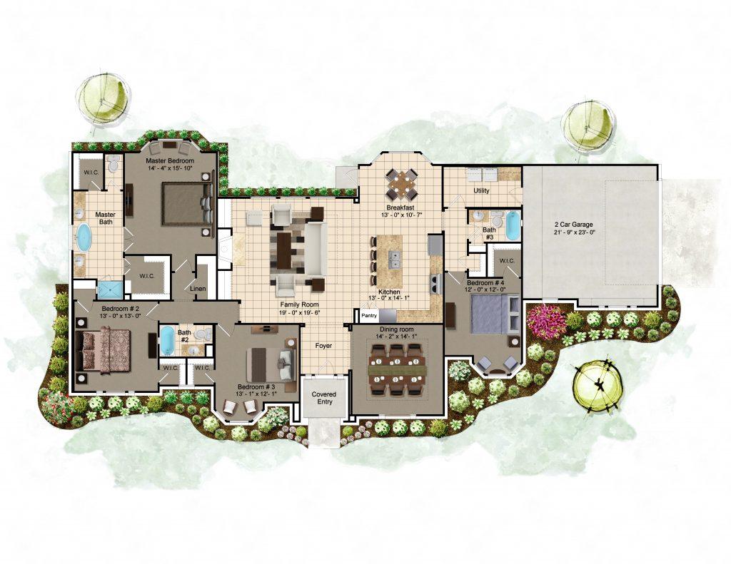 Wakefield Floor Plan