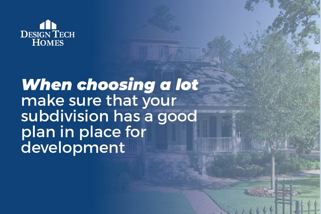 importance of choosing the right lot for your home